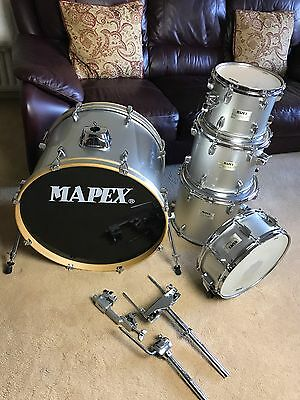 Mapex V Series Silver Drum Kit Shell Pack With Snare Drum