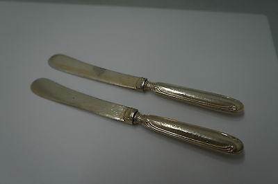 Sterling Silver Butter Knives William Yates (Lot of 2)