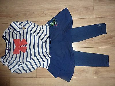 °°Robe Orchestra Et Legging Taille 6 Ans °°