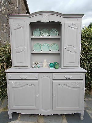 Antique Dresser French Painted Buffet Cabinet Louis Xy Revival Chalk Paint Fab