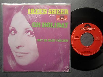 "7"" IREEN SHEER  Oh Holiday  POLYDOR 2001202"