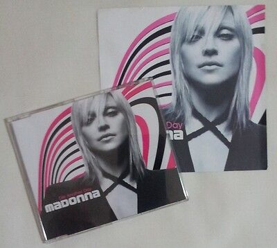 Madonna Die Another Day Promo France Cd Single + Inner Sleeve