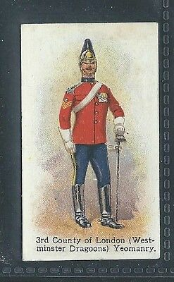 Godfrey Phillips Territorial Series No 54 Westminster Dragoons County Of London