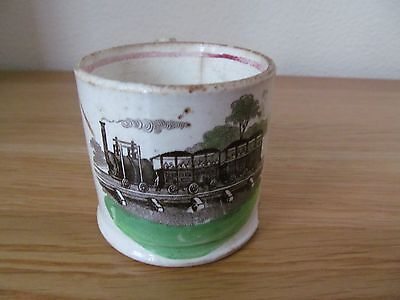 Antique Stephenson's Rocket Commemorative Mug A/F