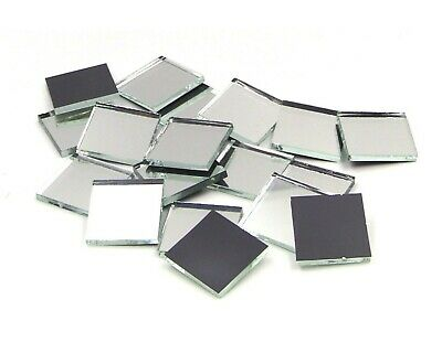 """500 Silver Mirror 1/2"""" Squares 