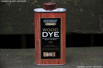 250ml RONSEAL COLRON FURNITURE WOOD DYE STAIN DARK OAK FOR TABLES CHAIRS BENCH
