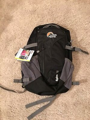 Lowe Alpine Spire 20 Day Pack Rucksack Backpack Sz 20L New Rrp £55