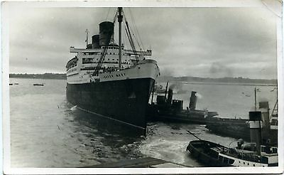 Rms Queen Mary - Old Photograph