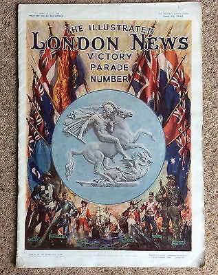 The illustrated London News WWII victory Parade Number June 15th 1946