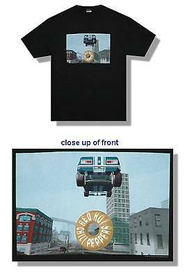 Red Hot Chili Peppers! Germs Doughtnut Car 2000 Blk T-Shirt Xl New