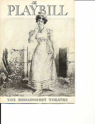 """Opening Night Playbill """"The Red Cat"""" 1934 NYC RARE 14 Performances"""