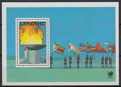 Lesotho 1988 ** Bl.55 Olympische Spiele olympic games [st2681]