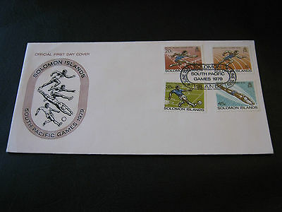 Solomon Islands FDC - 1979 - South Pacific Games ( 2500)