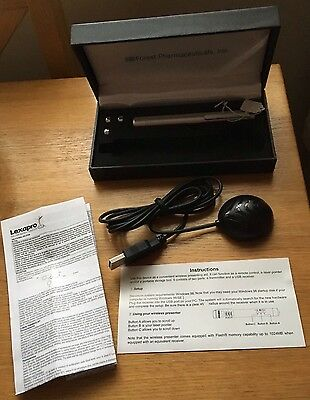 Laser pointer & remote control for computer presentations, brand new.