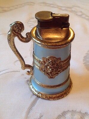 VINTAGE TABLE LIGHTER   BEER STEIN COLLECTABLE RETRO  C1960s  REF SG6