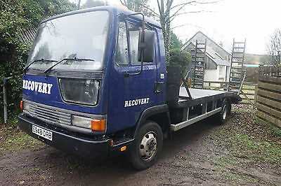 Leyland Daf 7.5 T Recovery Truck Car Van Plant Beaver Tail Vehicle Transporter