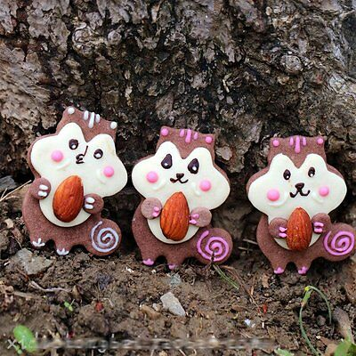 4pcs set Squirrels Stainless Steel Cookie Cutter Cake Mould Tool Kitchen mold