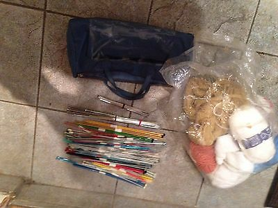Knitting wool With Accessories  Wool yarn needlle craft crochet