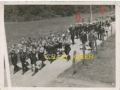 WW2 German Top !! BDM Boys Troops Ceremony Music Band !!!    Nice Photo !!!