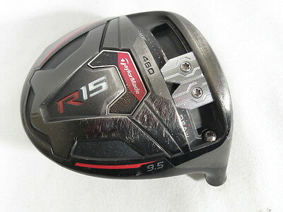 TAYLOR MADE R15 460 BLACK 9.5* DRIVER -Head Only-