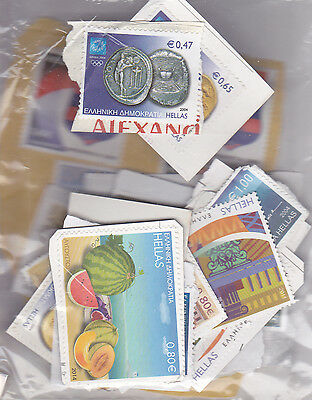 Greece Collection.  Mint No Gum Unfranked Stamps.