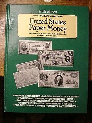 United States Catalog of Paper Money by Krause (10th Edition)