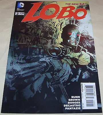 LOBO No 2 DC comic From 2015 Variant Cover RARE Cullen Bunn Reilly Brown Borges