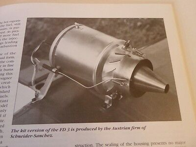 Flying Model Jet Engines, Fascinating Subject Build One At Home Plans How 2 Book