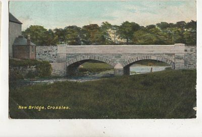 New Bridge Crosslee Renfrewshire 1905 Postcard Johnstone Postmark