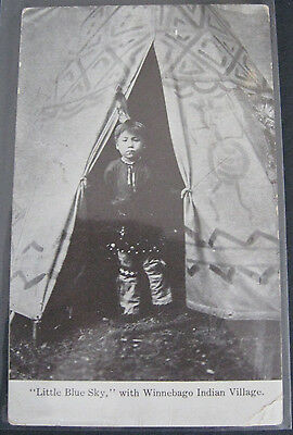 3 Postcards from Photos of Native Americans 'Indians' 1901-15