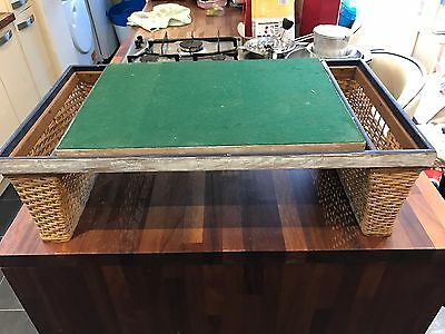 Retro Vintage Picnic Table Games Table Breakfast In Bed Table Very Rare