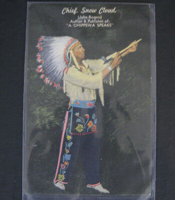 11 Postcards Native American 'Indian' Portraits 1907 - 1930's