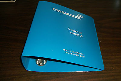 Conrail Shared Assets Employee Operating Manuals Binder Only