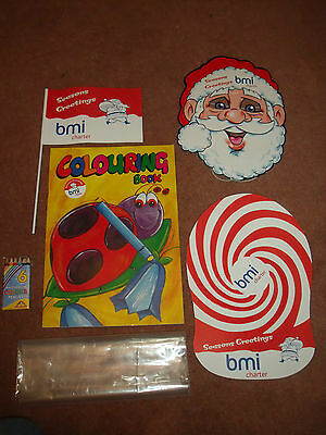 Bmi Charter -  Airline Childrens Christmas Activity Pack *