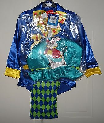 Mad Hatter fancy dress costume. 3 piece set. 7-8 yrs. World book day