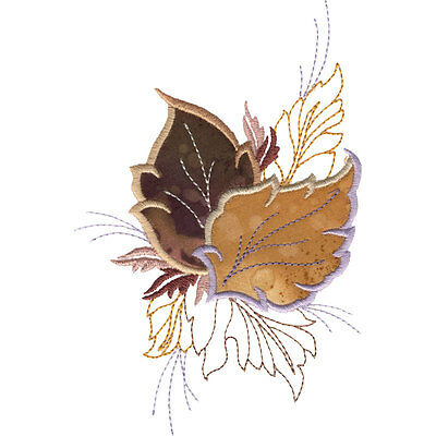 OESD Embroidery Machine Designs CD LEAF APPLIQUES