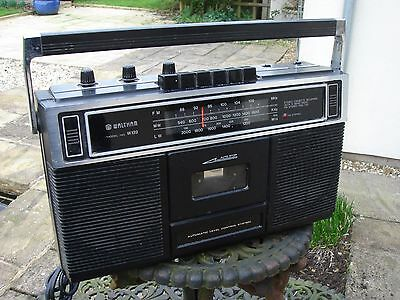 Vintage Waltham 3 Band Radio with Stereo Cassette Recorder - Model W139