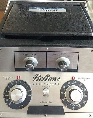 Beltone Model 9d  Audiometer I good physical condition