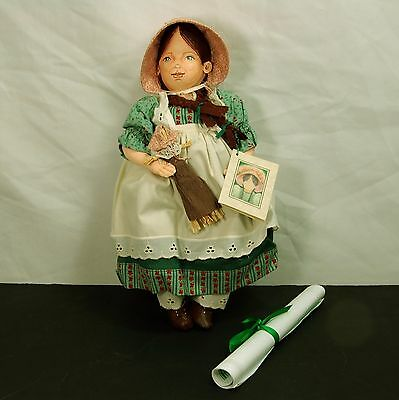 Vintage Handmade Marcia Dundore Wolter Emily's birthday 2009 UFDC luncheon doll
