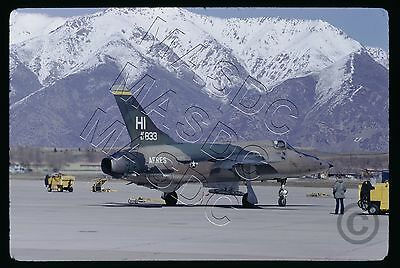 35mm Kodachrome Aircraft Slide - F-105B Thunderchief 57-5833 HI AFRES - May 1974