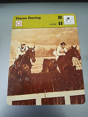 HORSE RACING - ARKLE - GOLD CUP WINNER - Sportscaster Fact Card -  Rare