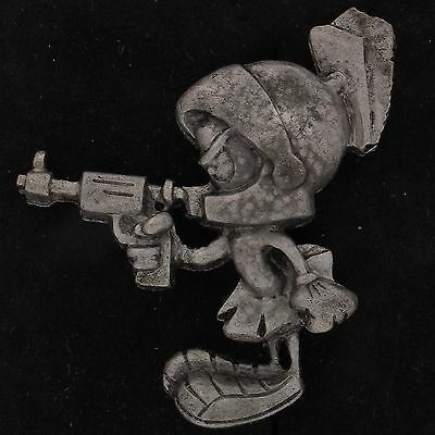 PIN Marvin The Martian WARNER BROS LOONEY TUNES Pewter TIE TACK WB STORE 4008 A