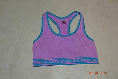 Girl Justice Blue And Purple Sports Bra Size 30