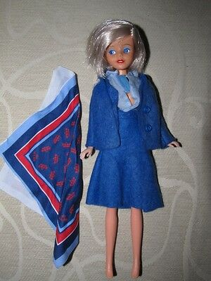 HTF Mary Quant Daisy Airline Hostess Doll - EXC COND !!