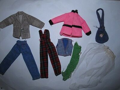 Mary Quant Daisy Doll Outfit Completers - EXC COND !!