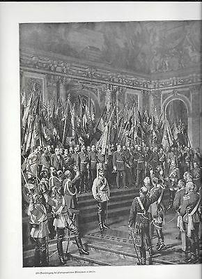 Germany(Bismark/general Staff/ Etc) Very Lg Color & Monotone Double Pages (6)