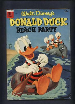 Donald duck Beach Party 130 page dell Walt Disney Comic 1 pg missing