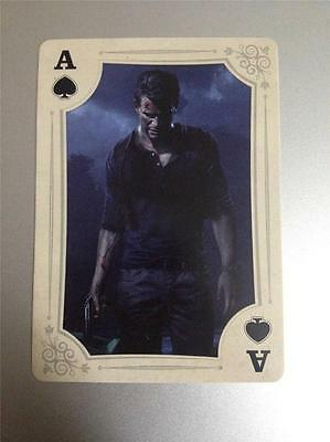 Playstation Experience Trading Card Nathan Drake Uncharted 4 Ps4 Ace Card