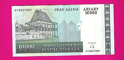 MADAGASCAR - 10000 Ariary (without francs) VF