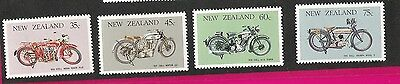 NEW ZEALAND - Motorbikes 1986 Motorcycles Unmounted Mint